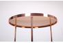Стол журнальный Kalibri, rose gold, glass top - Фото №3
