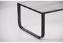 Стол журнальный Oregon черный/стекло дуб шервуд - Фото №2