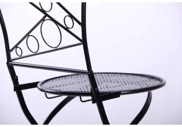 Стул Антиб металл, винтаж блек - Фото №2