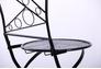 Стул Антиб металл, винтаж блек - Фото №3