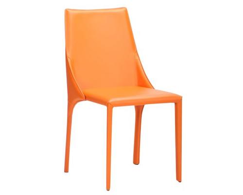 Стул Artisan orange leather - Фото №1