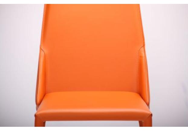 Стул Artisan orange leather - Фото №2