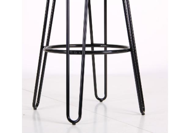 Высокий барный стул Hendrix черный - Фото №2