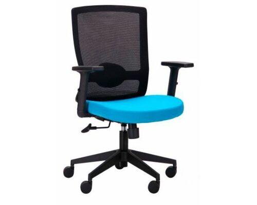 Кресло Xenon LB черный/лазурь - Фото №1