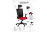 Кресло Xenon HB черный/гранат - Фото №3