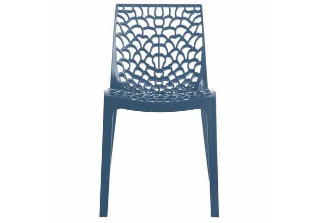 Пластиковый стул GRUVYER BLUE (Грувер Синий) - Фото №2