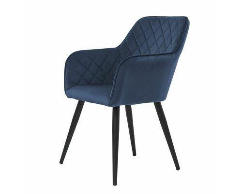 Кресло обеденное ANTIBA (Антиба) ткань полуночный синий - Фото №1