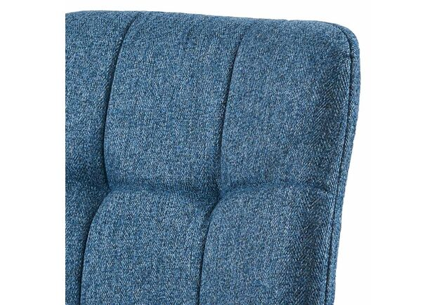 Cтул обеденный NORMAN Норман ткань голубой - Фото №2