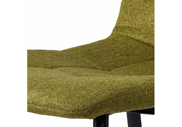 Cтул обеденный NORMAN Норман ткань зеленый - Фото №2