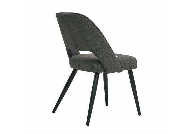 Кресло обеденное TAYLOR Тейлор серый графит - Фото №2
