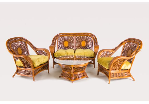 Комплект мебели из натурального ротанга CRUZO Ацтека   - Фото №1