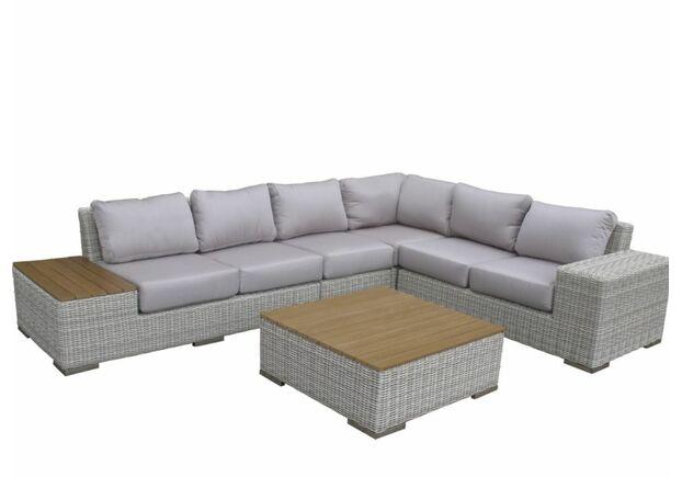 Комплект мягкой мебели Эль из искусственного ротанга Cruzo - Фото №1