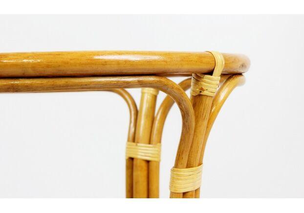 Обеденный стол Келек натуральный ротанг светло-коричневый - Фото №2