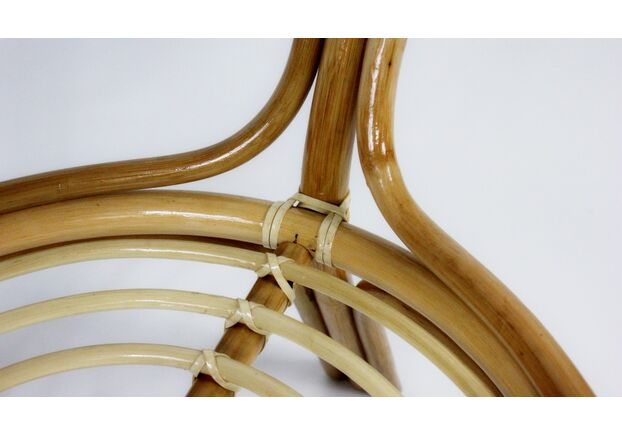 Обеденный стол Келек натуральный ротанг в натуральном цвете - Фото №2