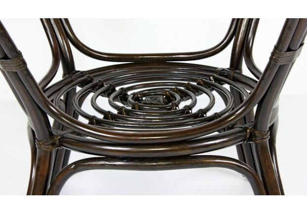 Обеденный стол Келек натуральный ротанг темно-кричневый - Фото №2