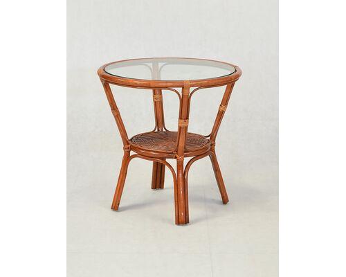 Кофейный стол Келек натуральный ротанг светло-коричневый - Фото №1
