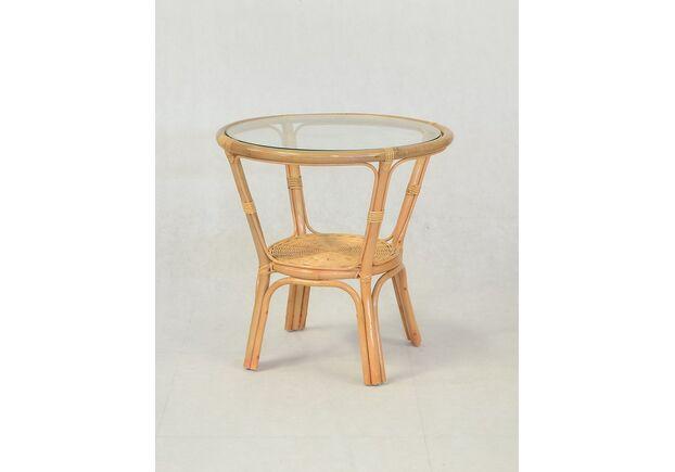 Кофейный стол Келек натуральный ротанг медовый - Фото №1