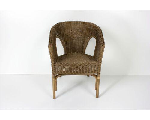 Кресло CRUZO KELEK CHAIR натуральный ротанг кофе - Фото №1