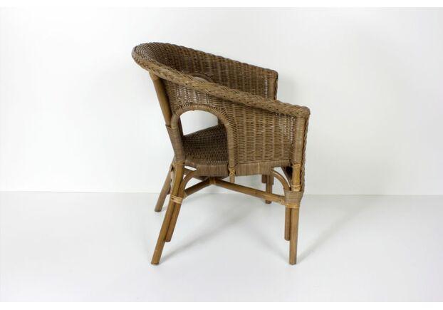 Кресло CRUZO KELEK CHAIR натуральный ротанг кофе - Фото №2