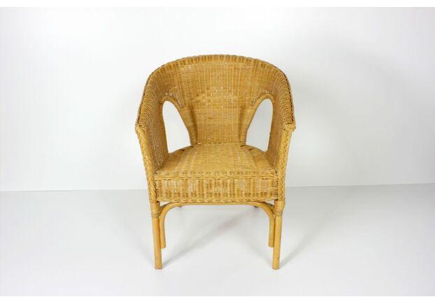 Кресло CRUZO KELEK CHAIR натуральный ротанг коньяк - Фото №1