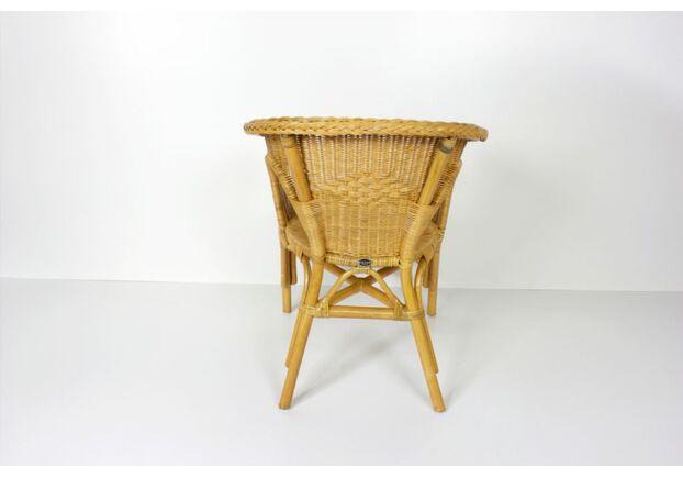 Кресло CRUZO KELEK CHAIR натуральный ротанг коньяк - Фото №2