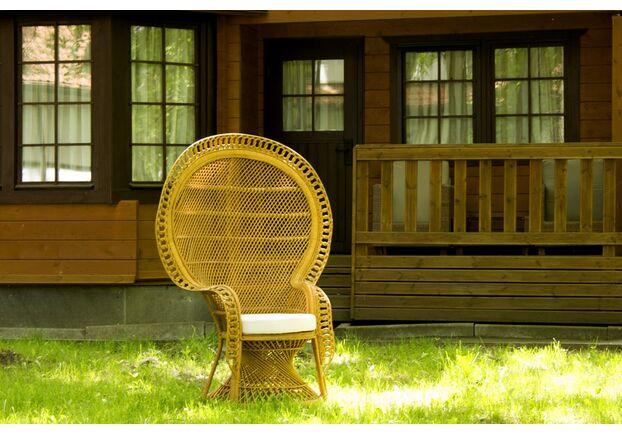 Кресло Мавлин из натурального ротанга  - Фото №2
