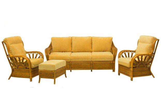 Комплект плетеной мебели Аскания из натурального ротанга - Фото №1