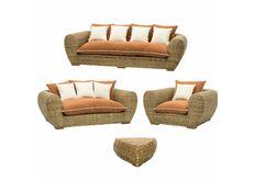 Фото Комплект мебели CRUZO Пеллегрино натуральный ротанг pl0001