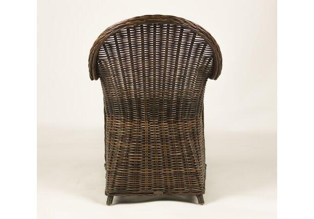 Кресло CRUZO Сейшелла натуральный ротанг коричневый  - Фото №2