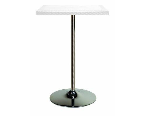 Барный стол из искусственного ротанга Calaf bianco (Лиу белый) - Фото №1