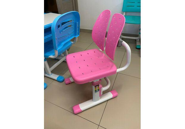 Стул Evo-kids EVO-309 PN белый металл/сиденье розовое - Фото №2