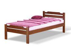 Кровать односпальная Ольга 90x200 см коньяк