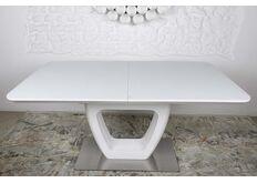 красивый белый стол для гостиной