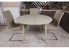 круглый кухонный стол закаленное стекло