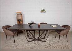 коричневый стол нотингем длинный