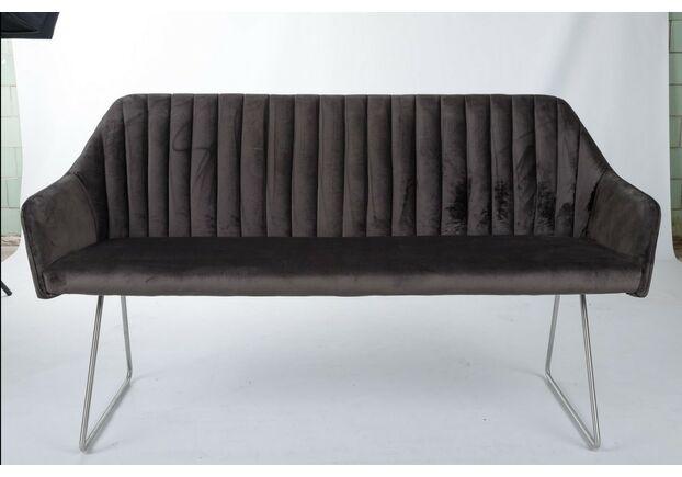 Кресло - банкетка BENAVENTE (1500*610*810 текстиль) антрацит - Фото №1