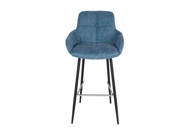 Стул барный OLIVA (57*59*106 см) синий - Фото №1