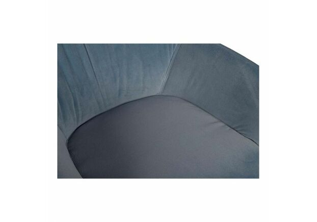 Кресло CARINTHIA (60*63*77,5 cm текстиль) голубой - Фото №2