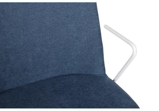 Стул CORSICA (49*62*80 см текстиль) с железными подлокотниками, джинс - Фото №2