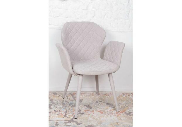 Кресло VALENCIA (60*68*88 cm - текстиль) беж - Фото №1