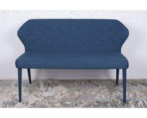 Кресло - банкетка VALENCIA (130*59*85 cm - текстиль) синяя - Фото №1