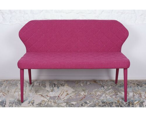 Кресло - банкетка VALENCIA (130*59*85 cm - текстиль) фуксия - Фото №1