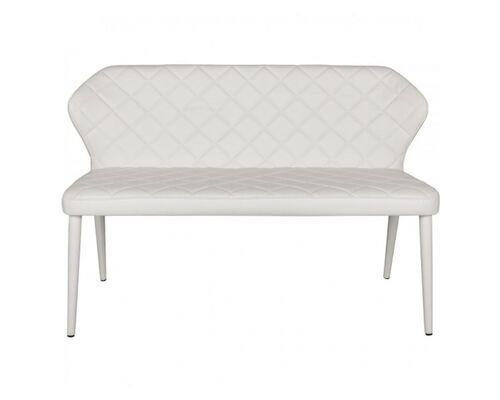 Кресло - банкетка VALENCIA (130*59*85 cm - экокожа) белый - Фото №1