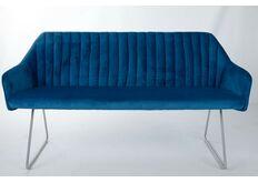 кресло-банкетка синий