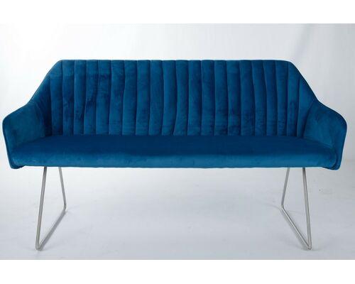 Кресло - банкетка BENAVENTE (1500*610*810 текстиль) синий - Фото №1