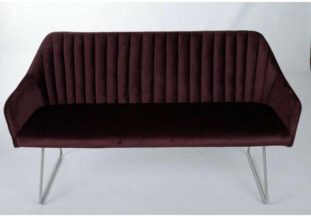 Кресло - банкетка BENAVENTE (1500*610*810 текстиль) гранат - Фото №1