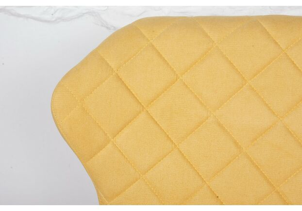 Кресло - банкетка VALENCIA (130*59*85 cm - текстиль) желтая - Фото №2
