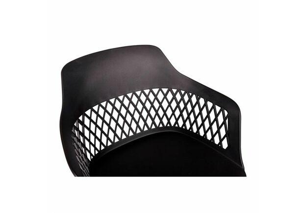 Стул LAVANDA (57*57*82) Roll черный на колесиках - Фото №2