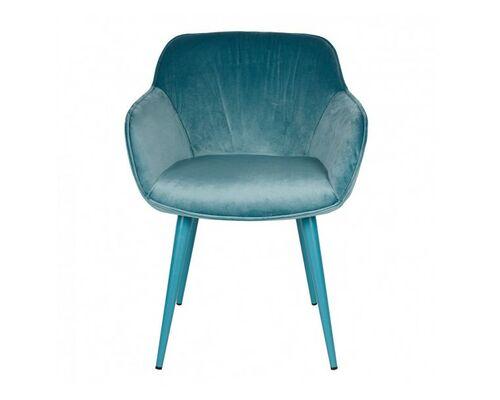 Кресло CARINTHIA (60*63*77,5 cm текстиль) темно-бирюзовое - Фото №1