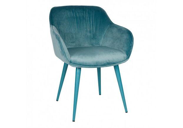 Кресло CARINTHIA (60*63*77,5 cm текстиль) темно-бирюзовое - Фото №2